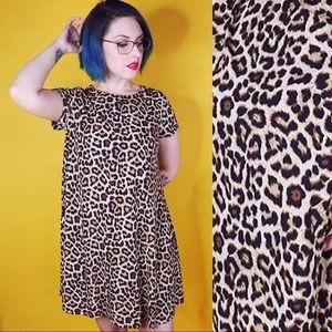 Glamorous Dresses - Leopard Print Shift Dress